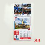 Calendar A4 - 12 file