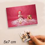 5x7 cm